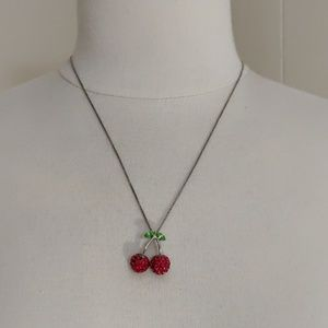 Cookie lee_ Cherry necklace